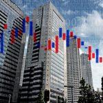 株価下落のイメージ