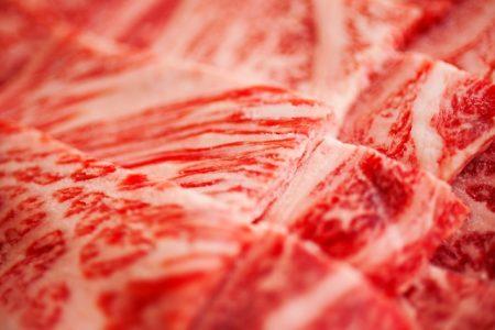 冷凍した牛肉