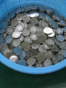 できたて100円玉